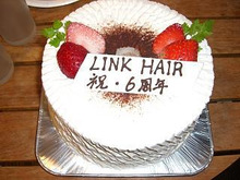 福岡市南区若久・美容室「Link hair」-Link hair 6周年