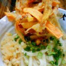 大鶴製麺所のかきあげ