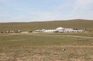 中国大連生活・観光旅行通信**-5シラムレン草原