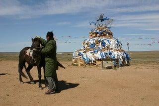 中国大連生活・観光旅行通信**-7シラムレン草原