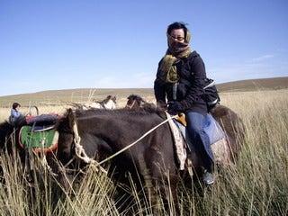 中国大連生活・観光旅行通信**-9シラムレン草原