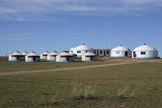 中国大連生活・観光旅行通信**-2シラムレン草原