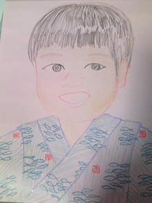 Grumpy Monkey(不機嫌なおさるさん)の観察日記-nigaoe by me mini