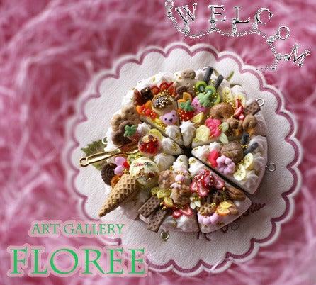 floree*スイーツデコ☆樹脂粘土な日々