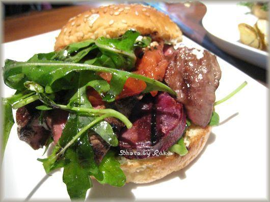 ハンバーガー ログブック ☆ Hamburger Log Book-'09/09 牛フィレ肉サンドバーガー