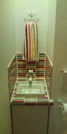 不況にマケズ 注文住宅を建てよう ~ナチュラル マイホーム ~-トイレ-手洗い
