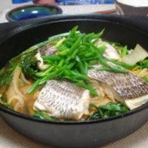 白菜と鯛のコチュジャ…