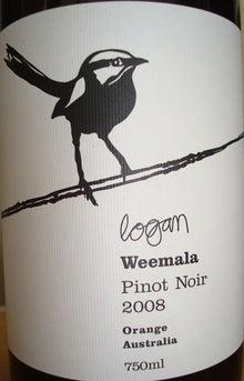 個人的ワインのブログ-Logan Weemala Pinot Noir 2008