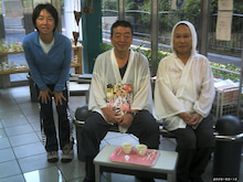 $歩き人ふみの徒歩世界旅行 日本・台湾編-ぶんきち夫婦と