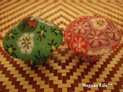 Nagano Life**-きのこのロウロク