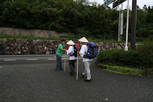 歩き人ふみの徒歩世界旅行 日本・台湾編-見送る
