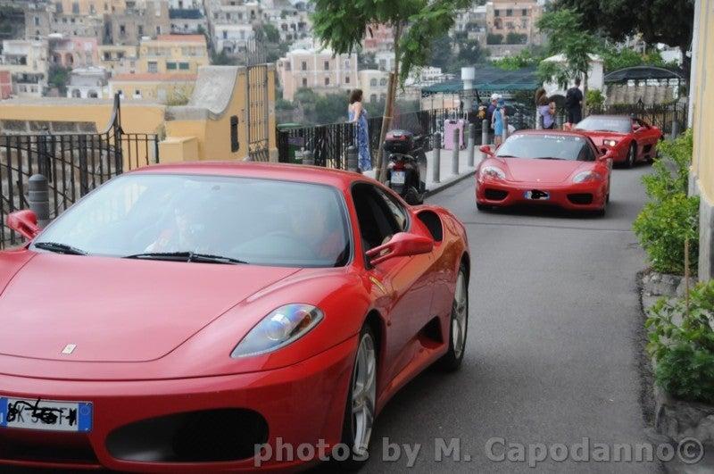 【彼女の恋した南イタリア】 ~ diario-positano Ferrari rosso