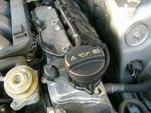$ベンツトラブルナビゲーター | ~ベンツ修理,相談室~-W220 エンジンオイル漏れ修理