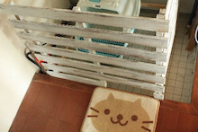 ぷくぷく☆たぁくんの成長日記 誕生~1歳まで-猫トイレゲート2