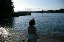 毎日はっぴぃ気分☆-鵜原海岸でのシルエット
