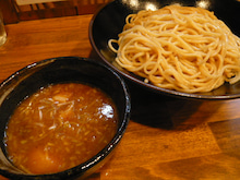 食メモ ~大阪ラーメン写真館~-つけ麺特盛