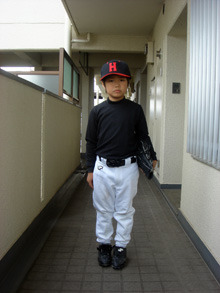 流れゆくままに-野球少年