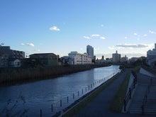 続 東京百景(BETA version)-#075 旧中川(カーブとカーブの間)