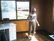 歩き人ふみの徒歩世界旅行 日本・台湾編-掃除時の格好