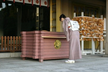 $nodoka ~ きもの はじめ-護国神社1 小