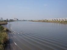 続 東京百景(BETA version)-#076 西新井橋から荒川上流側を一望