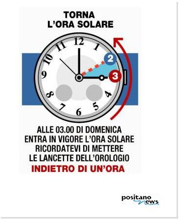 【彼女の恋した南イタリア】 ~ diario-Cambio Ora positano news