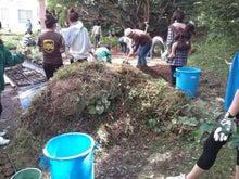 緑化推進事業の活動報告-1011雑草の山
