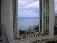 夫婦世界旅行-妻編-窓からの風景海側