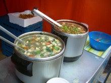 ベルギー便り。-オステンド 巻貝スープ