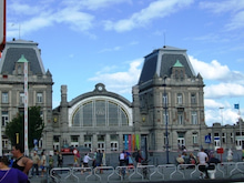 ベルギー便り。-オステンド 駅