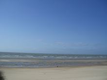 ベルギー便り。-オステンド 海岸貸切