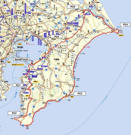 Audax Japan Chiba-BRM710chiba400