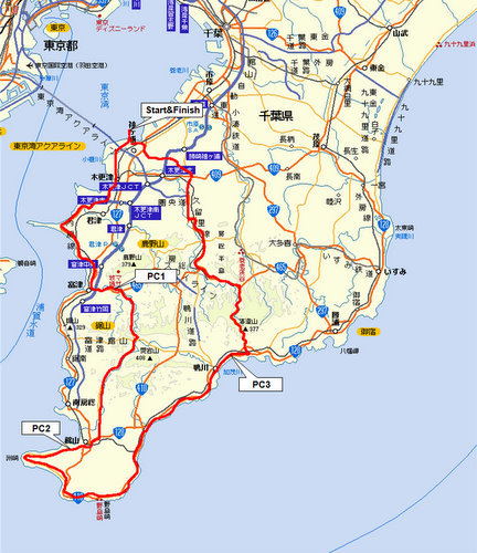 Audax Japan Chiba-BRM214chiba200