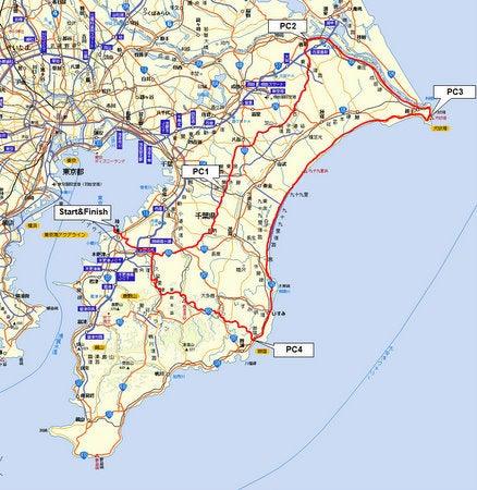 Audax Japan Chiba-BRM313chiba300