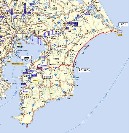 Audax Japan Chiba-BRM313chiba200