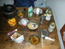 関西蛍雪山岳会のページ-豪華な晩御飯