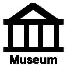 mozimozi ~ THE REDZONE の Tシャツ屋 ~-地図記号・博物館