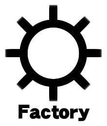地図記号・工場|mozimozi ~ THE ... : 4字熟語一覧 : すべての講義
