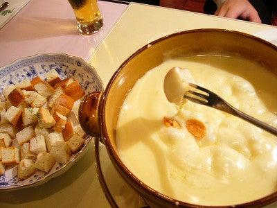 七里・大和田 地域探訪ブログ-キャナリィ・ロウ_チーズフォンデュ2