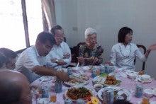 台湾生活…アジアの平和を願って-接待所内食事