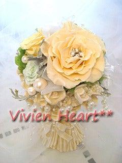 Vivien Heart**-メリアソフトイエロー