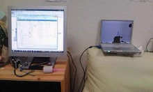 Grumpy Monkey(不機嫌なおさるさん)の観察日記-using with 2nd monitor