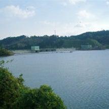 上津ダム湖 ワカサギ…