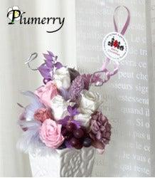 Plumerry(プルメリー)プリザーブドフラワースクール (千葉・浦安校)-お楽しみ プリザーブドフラワー クリスマス