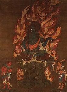 夫婦世界旅行-妻編-青不動明王