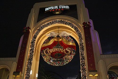 ユニバーサル・スタジオ・ジャパン ファンブログ-ユニバーサル・スタジオ・ジャパンのクリスマス風景