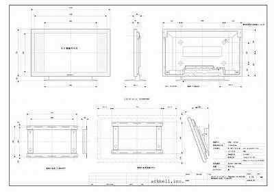 映像音響屋の仕事/アークベル-CAD作図2