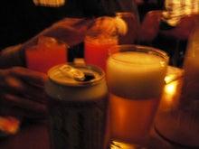 楽嬉~ラッキー~blog-開演前のビール091213