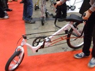 ブサイクリング女