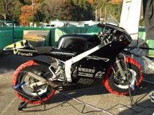 CCのRX-7(FD3S)制作、走行日記-バイク